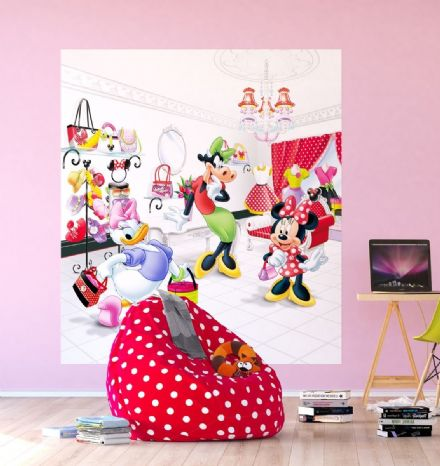 "Disney Minnie ""Shopping"" Premium wall mural"